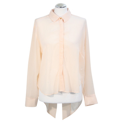 French Connection Zijden blouse in roze