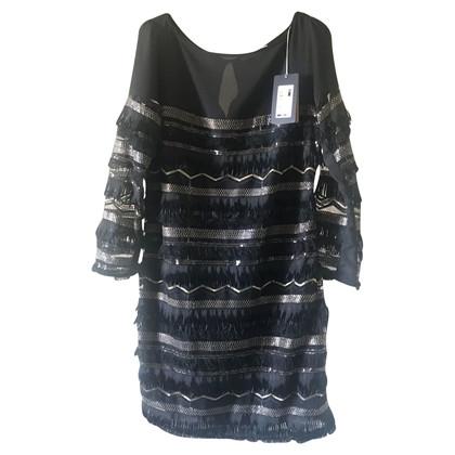 Patrizia Pepe Kleid mit Pailletten-Besatz