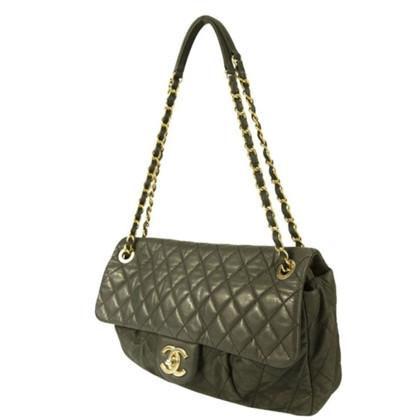 Chanel Chanel Gray Black Bag