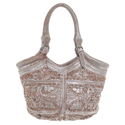 Ermanno Scervino Suede handbag
