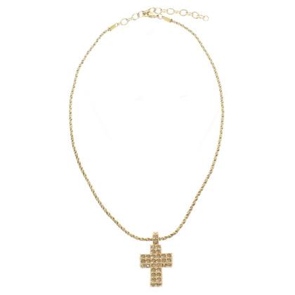 Swarovski Collana con ciondolo croce