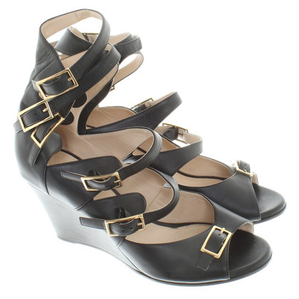 Chloé Sandals in zwart