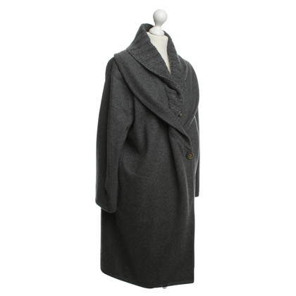 Brunello Cucinelli Coat with knit collar