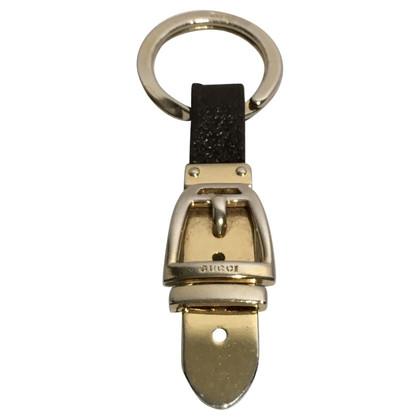 Gucci Pendente chiave in oro/marrone