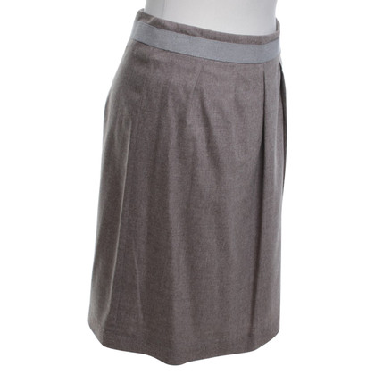 Fabiana Filippi skirt in grey / Braun