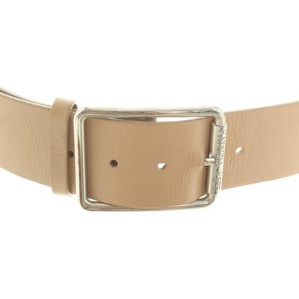 Patrizia Pepe Leather belt in beige