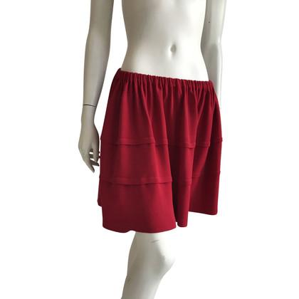 Miu Miu skirt in red