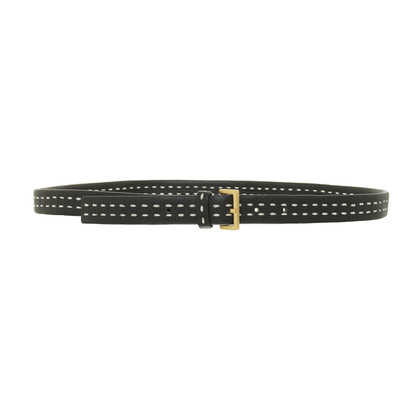 Hugo Boss Belt with white stitching
