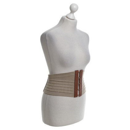 Yves Saint Laurent Waist belt in beige / brown