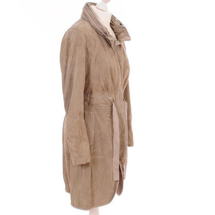 Brunello Cucinelli Suede coat