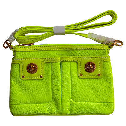 Marc by Marc Jacobs Neon geel cross body tas