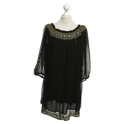 Antik Batik Tunic in zwart