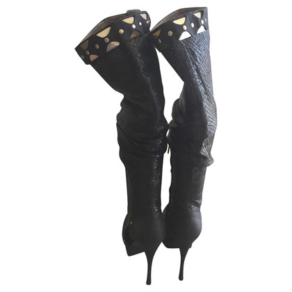 Versace Plateau Stiefel