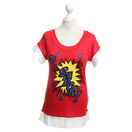 Moschino Love T-Shirt in Rot