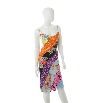 Moschino Cheap and Chic zijden jurk patroon