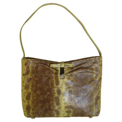 Jimmy Choo Small handbag made of lizard skin