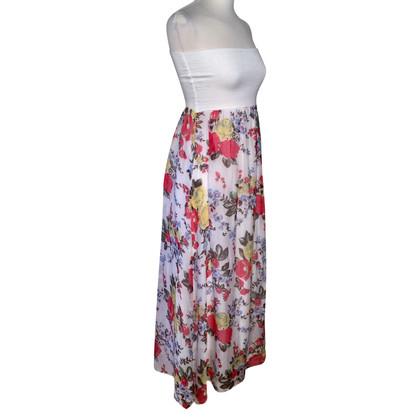 Pinko gebloemde jurk