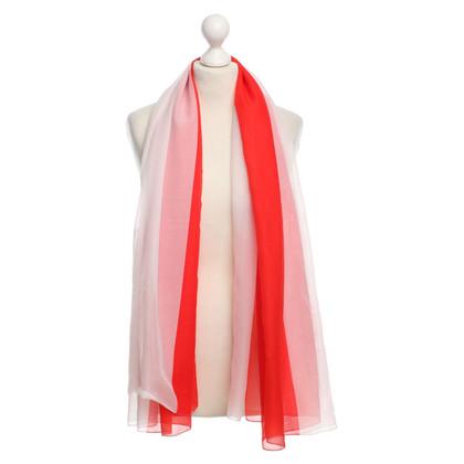 La Perla Halstuch in Rot/Weiß