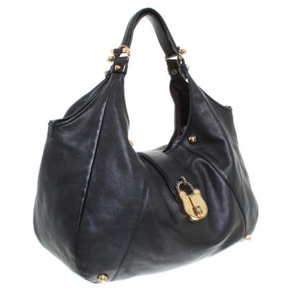 Loewe Tasche in Schwarz