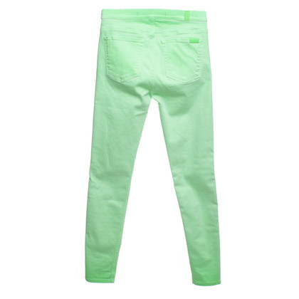 7 For All Mankind Skinny Jeans in neon green