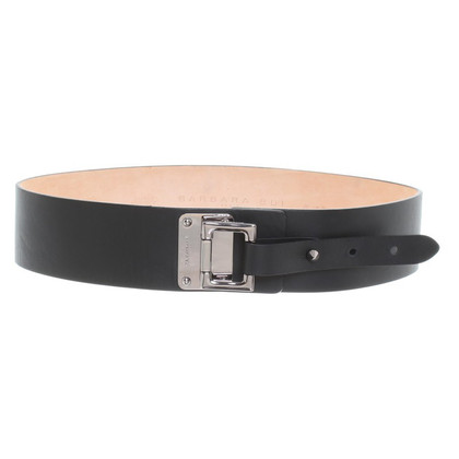 Barbara Bui Leather belt in black