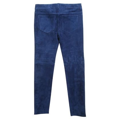 Closed Pantaloni realizzati in pelle di agnello