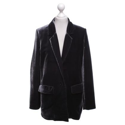 Closed Velvet blazer in grijs