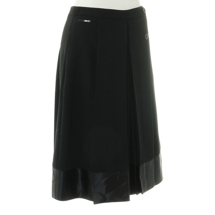 By Malene Birger skirt with satin trim
