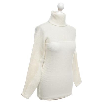 Stefanel Maglione bianco crema