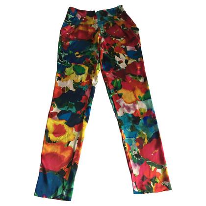 Talbot Runhof Silk pants