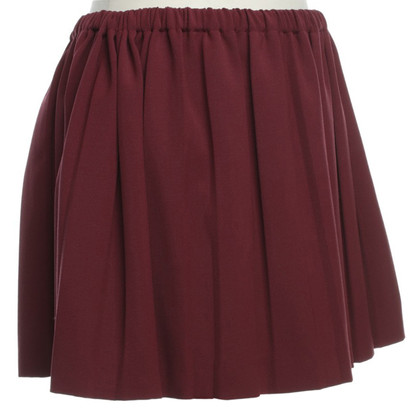 Miu Miu Mini skirt in Bordeaux