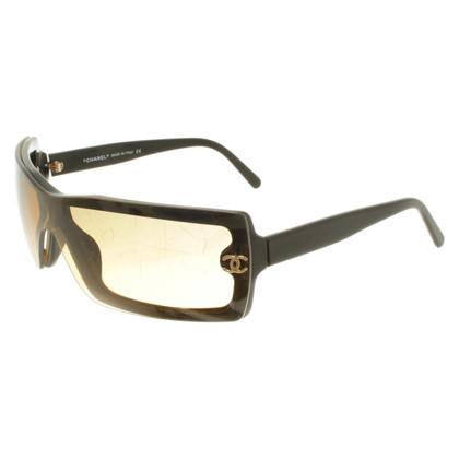 Chanel Occhiali da sole in nero / beige