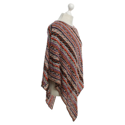 Missoni Poncho from Grobstrick
