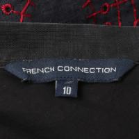 French Connection Rock mit Stickereien