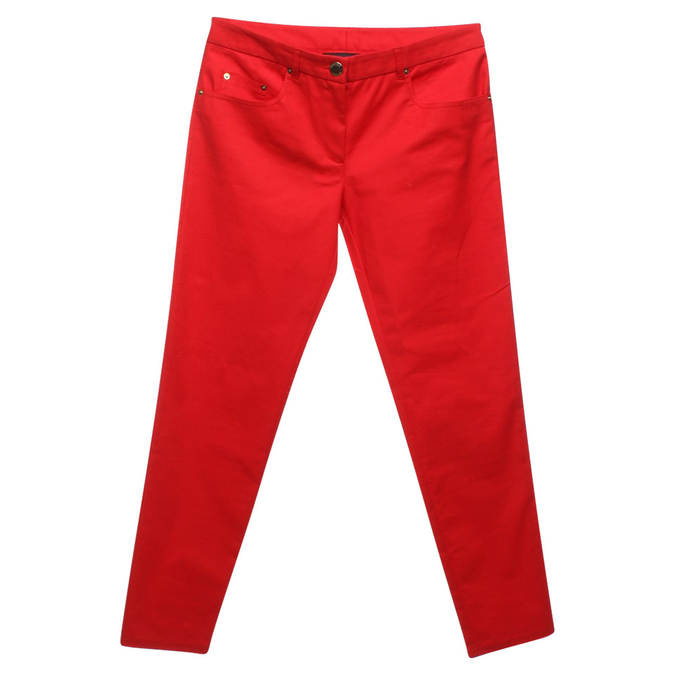 Moschino Pantalon en rouge