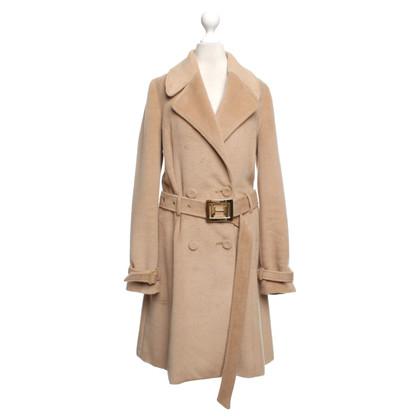 Halston Heritage Coat in caramel