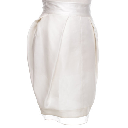 Ferre skirt in white