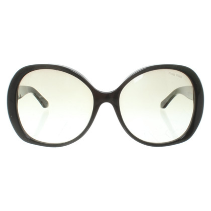 Miu Miu Sunglasses in black