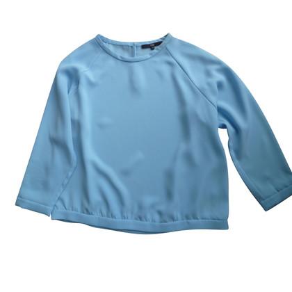 Tibi blouse bleu clair