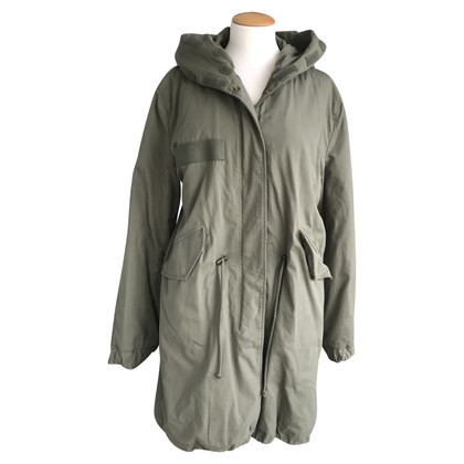 Blonde No8 Parka in olijf