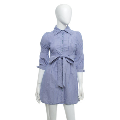Ted Baker Blouse dress with white stripes
