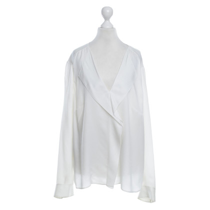 Hugo Boss Silk blouse in cream white
