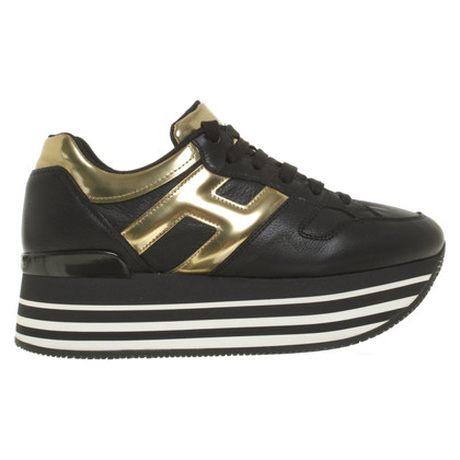 Hogan Sneakers Plateau in nero