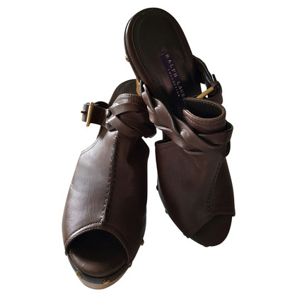 Ralph Lauren Clogs in Brown