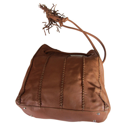 Coccinelle Ledershopper in light brown