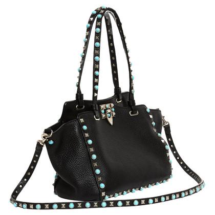 "Valentino ""Rockstud Tote Bag Small"""