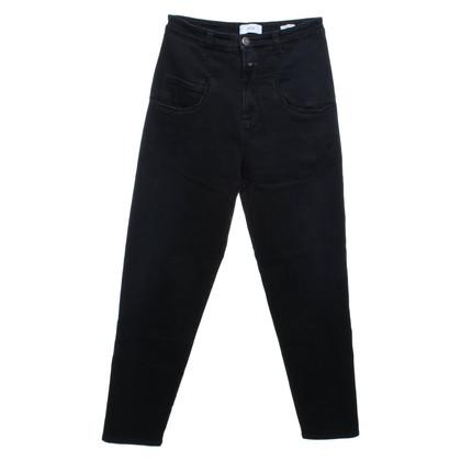 Closed Blauwe jeans met hoge taille