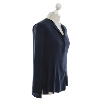 Donna Karan Bluse in Blau