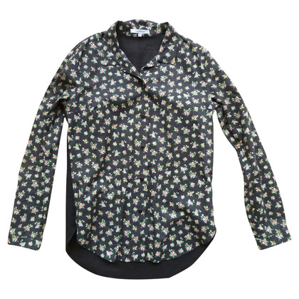 Carven Floral blouse
