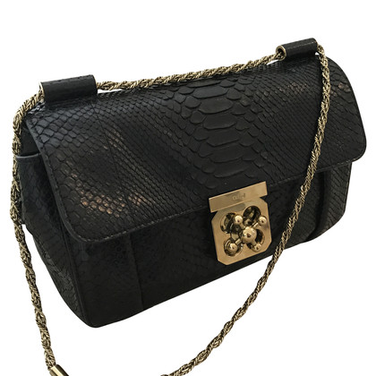 "Chloé ""Elsie Python Shoulder Bag"""
